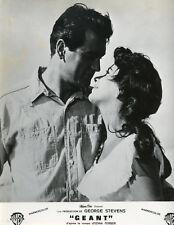 ELIZABETH LIZ TAYLOR  ROCK HUDSON GIANT 1956 VINTAGE PHOTO ORIGINAL #17