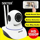 Wireless 1080P Pan Tilt Network Security CCTV IP Camera Night Vision WiFi Webcam
