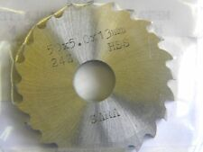 Metallkreissägeblatt 50 x 5 x 13, 24 Zähne, HSS, DIN 1838C