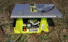 Ryobi Heavy Duty Lightweight Portable Table Stand Saw 15 Amp 5000 RPM 10 Inch