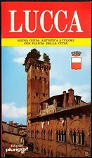 Lucca: Nuova Guida Artistica a colori con pianta della città, Ed. PluriGraf,1989