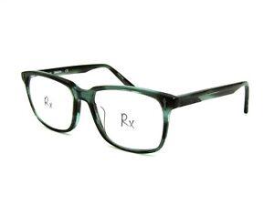 Dragon DR178 Manders Men's Eyeglasses Frame, 419 Teal Horn. 56-17-145 #Y64