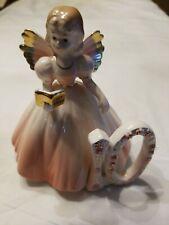 Vintage Josef Originals 10thBirthday Girl Angel Figurine, wing has been broken