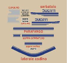 DUCATI 900 SUPER SPORT 1975 ADESIVI STICKERS