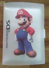 Club Nintendo SUPER MARIO 18 Cards holder case - Nintendo DS 3DS XL Games RARE