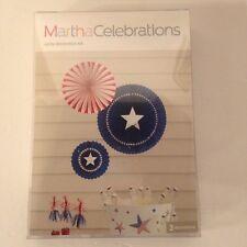 4th Of July Patriotic Party Decoration Hanging Pinwheels Martha Stewart