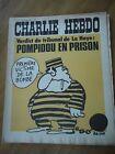 CHARLIE HEBDO N°137 TRIBUNAL POMPIDOU PRISON BOMBE NUCLEAIRE REISER 2 juil 1973