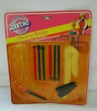 """Vintage #2462 BARBIE DOLL """"FINISHING TOUCHES"""" Night & Day Accents NRFB 1982 New"""