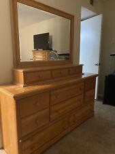 queen bedroom set furniture used