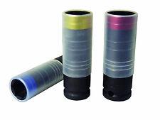 Astro Pneumatic 78804 3Pc Ultra Thin Impact Socket Set W/ Protective Sleeve