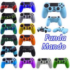 FUNDA PROTECTORA MANDO compatible PS4 - carcasa silicona suave PLAY STATION 4