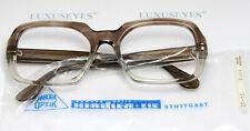 PANORA 1015 Vintage Brille Eyeglasses Square Thick Bril Lunettes 54-20 XL Nerd