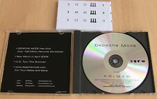 Depeche Mode Primer Rare Promo CD Compilation Personal Jesus Enjoy The Silence