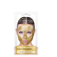 Bielenda Gold Detox Metalic Mask Detox and Regenerating Mature Sensitive Skin