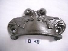 ANTIQUE EASTLAKE CAST IRON DRAWER BIN PULLS 1870S TO 1890S