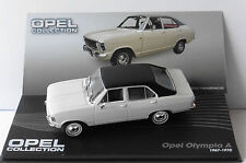 OPEL OLYMPIA A 1967 1970 WHITE BLACK ROOF IXO ALTAYA 1/43 WEISS EAGLE MOSS BLANC