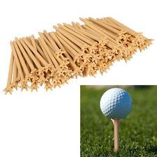 New 20pcs Professional Frictionless Golf Tee Wheat Golf Tees Plastic UK