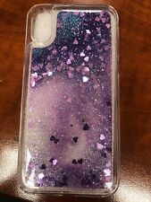 Glitter case for iPhone X brand new!! Pink or Purple!