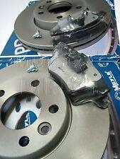 MEYLE Platinum Front Coated Discs & Platinum Brake Pads VW T5 Multivan 2004-14