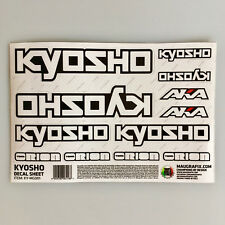 feuille décorative équipe STICKER KYOSHO ky-mg001 #703492