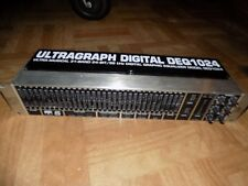 Behringer Ultragraph Digital DEQ1024 Rack Mountable 31-Band Graphic Equalizer
