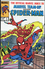 Lot of 11 MARVEL TEAM-UP with SPIDER-MAN Comics. Index #1, 126-136. VF(8).
