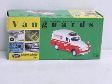 """Morris Minor Van creme/rot """"Hoover Service"""", OVP, Vanguards, 1:43, limitiert"""