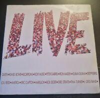 LIVE - QUEEN DAVID BOWIE ROXY MUSIC ... *1986 - DISCO VINILE 33 GIRI* N.192