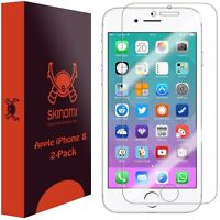Skinomi (2-Pack) Clear Screen Protectors Film Covers For Apple iPhone 8