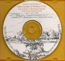 The Family of Gode, Goad, Goode  - Virginia  Genealogy