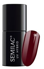 Semilac UV LED Hybrid Nail Polish 7ml - Choose Your Shade From 1st to 59th 028 Classic Wine