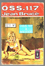 OSS 117 n°56 # JEAN BRUCE # OSS 117 A MONACO # 1976 COMICS POCKET