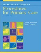 NEW - Procedures for Primary Care by John L. Pfenninger; Grant Fowler