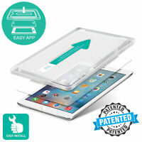 "EASY APPLICATOR für Apple iPad 10.5"" Air 2019 Schutzglas ECHTGLAS 3D Glasfolie"