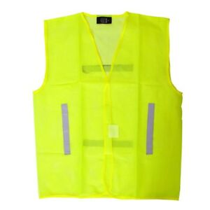 Ultra Lightweight Hi Vis Mesh Waistcoat Vest Running Cycling Horse Riding Safety
