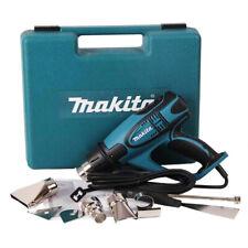 Makita HG6500 Heat Gun 220V , 2000W , 60Hz 4 Nozzle with LCD Display Soft Grip
