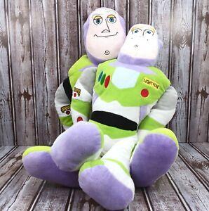 2 Toy Story Buzz Lightyear Plush Disney Pixar 20 And 24 Inch 100 Percent Soft
