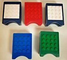 Lego Nintendo DS 3DS Game Case Holders Lot of 5 Multiple Colors Authentic Build