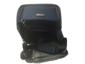 Delsey Small Lightweight Carry On Overnight Weekender Travel Bag Blue