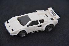 Faller AMS Aurora AFX Tyco Mattel 440 X2, Lamborghini Countach, Weiss