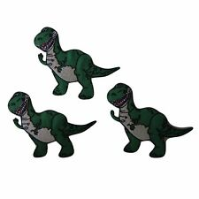 Disney's Toy Story Movie Rex the Dinosaur Figure Embroidered Patch Set of 3