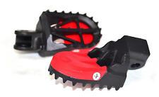 Motard MC Foot Pegs w/ Sliders - D48-02-932 DRC / Zeta Honda CR & CRF 125-450