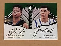 2017 Totally Certified Lonzo Ball Markelle Fultz Rookie Autograph SSP /5 RC Auto