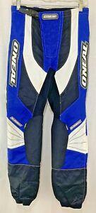 O'Neal Dirt Bike Pants Racing Elements Motocross Moto ATV Oneal Blue Men's 28
