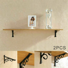 2pcs Wall Mounted M/L Shaped Angle Bracket Multifunctional Brace Shelf Brackets