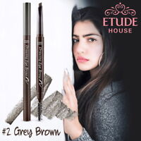 [ETUDE HOUSE KOREA] DRAWING EYE BROW BRUSH & PENCIL *NEW 0.25g* Grey Brown COLOR