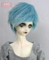 "6~7"" (16~17cm) 1/6 BJD DOLL MSD Fur Wig Dollfie Blue"