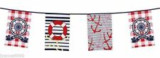 Nautical 6-10 m Party Banners, Buntings & Garlands