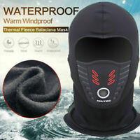 Outdoor Winter Full Face Mask Motorcycle Cycling Windproof Dustproof Hood Shield