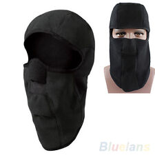 Motorcycle Thermal Fleece Balaclava Neck Winter Ski Full Face Mask Cap Cover A1